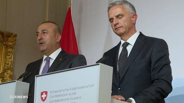 Burkhalter empfängt türkischen Aussenminister