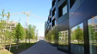 Die Überbauung am Rietpark ist eine der Blüten, die das Stadtentwicklungskonzept in Schlieren trieb.