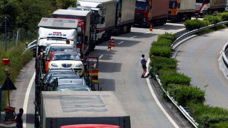 Im ersten Halbjahr 2019 sind schweizweit über 23'000 neue Nutzfahrzeuge neu zugelassen worden. (Archivbild)