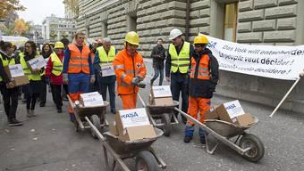 Vor zwei Jahren ist die RASA-Initiative mit 110'000 Unterschriften eingereicht worden. Falls die Initianten diese nicht zurückziehen, kommt das Volksbegehren bald an die Urne. (Archivbild)