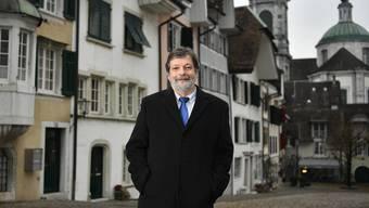 Roland Heim ist neuer Landammann von Solothurn.