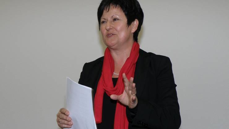 Marianne Meister wäre die erste Präsidentin des KGV
