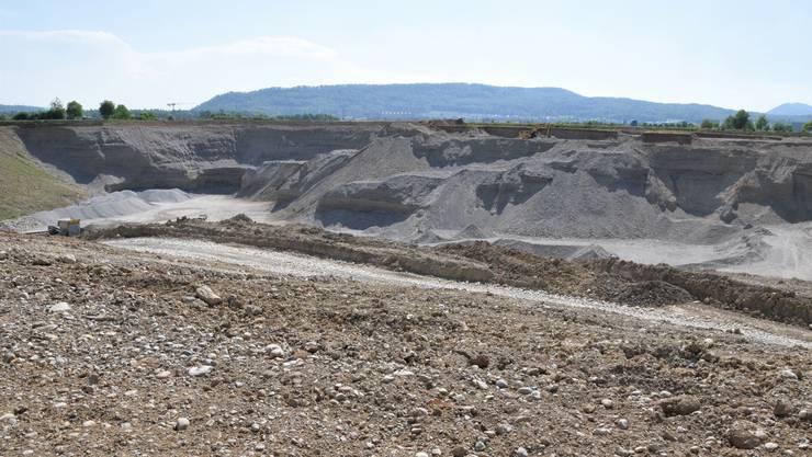 Weil die Kiesreserven bald erschöpft sind, will Holcim das Abbaugebiet erweitern.