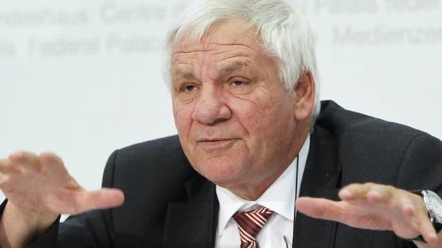 Rolf Schweiger vertritt den Kanton Zug seit 1999 im Ständerat (Archiv)