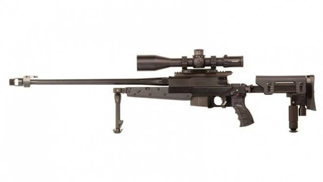 Exportschlager: Scharfschützengewehr der Thuner B & T. Einige gelangten in falsche Hände. Foto: HO