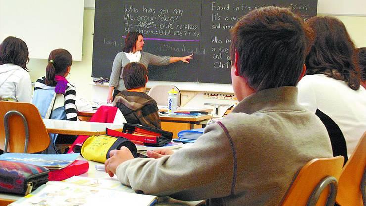 Gefordert: Lehrer in der künftigen Sek B unterrichten breites Spektrum. (az)