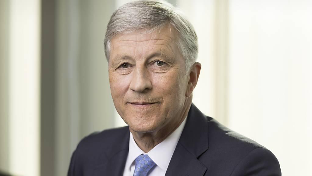 Der Verwaltungsratspräsident des Swiss-Life-Konzerns,  Rolf Dörig, hat angesichts einer Verschlechterung der Situation bei der Altersvorsorge durch die Coronavirus-Krise rasche Reformen angemahnt. (Archivbild)