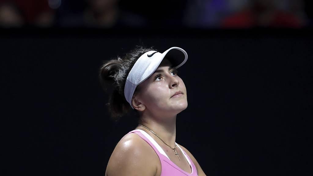 Bianca Andreescu ist in Melbourne nicht am Start