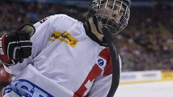 Nico Hischier war auch gegen Schweden ein Aktivposten (Archivbild)
