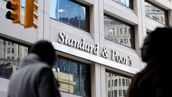 Gebäude der Ratingagentur Standard and Poors in New York (Archiv)