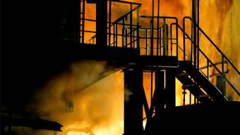 ... die Bilderseite erschienen ist!!! Stahlwerk, Stahl Gerlafingen AG.