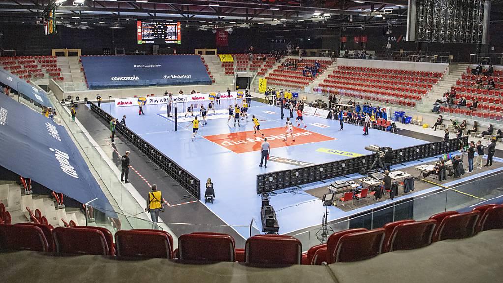 Wie schon am vergangenen Samstag in Winterthur die Cupfinals, finden auch die Playoff-Finals im Schweizer Volleyball ohne Publikum statt