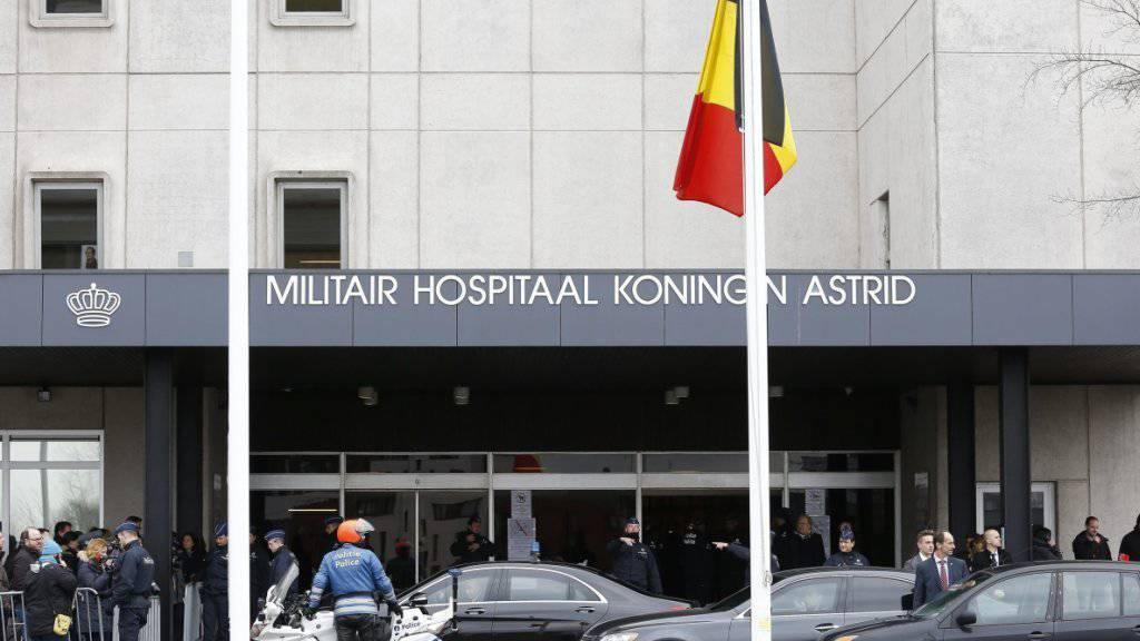 Eines der Spitäler, in dem Opfer der Anschläge von Brüssel behandelt werden: 37 Menschen liegen auch nach zwei Wochen noch auf der Intensivstation. (Archivbild)