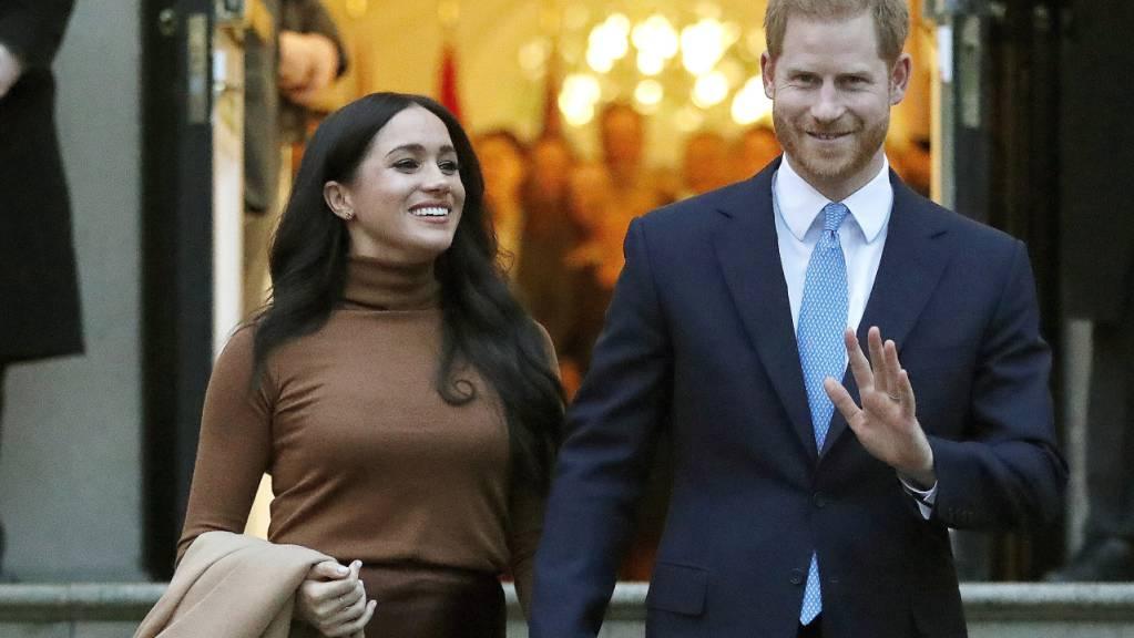 Der britische Prinz Harry und seine Frau Meghan sind bei einem Musikkonzern im New Yorker Central Park mit dabei. Das Konzert setzt sich für eine gerechte Verteilung von Corona-Impfstoffen ein. (Archivbild)