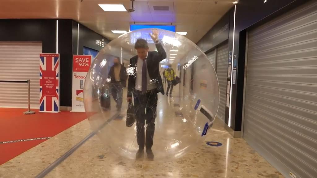 Flughafen Genf testet neues Schutzkonzept