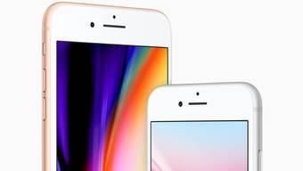 Ohne Abo ist das iPhone 8 mit einer Speicherkapazität von 64 GB ab 799 Franken erhältlich.