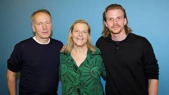 Thomas Wöbke, Ruth Waldburger und Tim Fehlbaum.