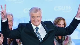 Der CSU-Vorsitzende Horst Seehofer ist der grosse Sieger in Bayern