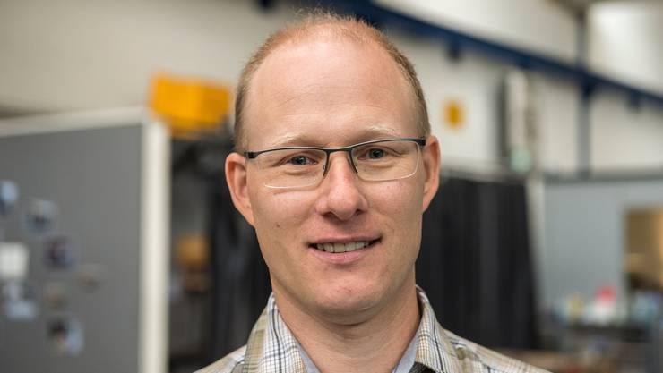 Patrick Imfeld, stellvertretender Leiter Berufsbildung bei Schindler.