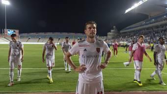 Ein Bild, das man nicht noch mal sehen will: Der FC Basel scheitert an Apollon Limassol und verpasst das europäische Geschäft. Bild: Keystone (Nikosia, 30. August 2018)