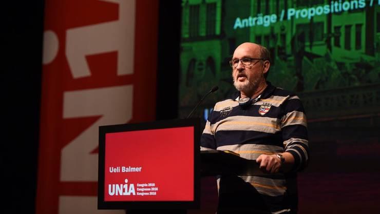 Jetzt engagiert er sich bei einem überregionalen Zusammenschluss von Gewerkschaftern gegen die Unia.