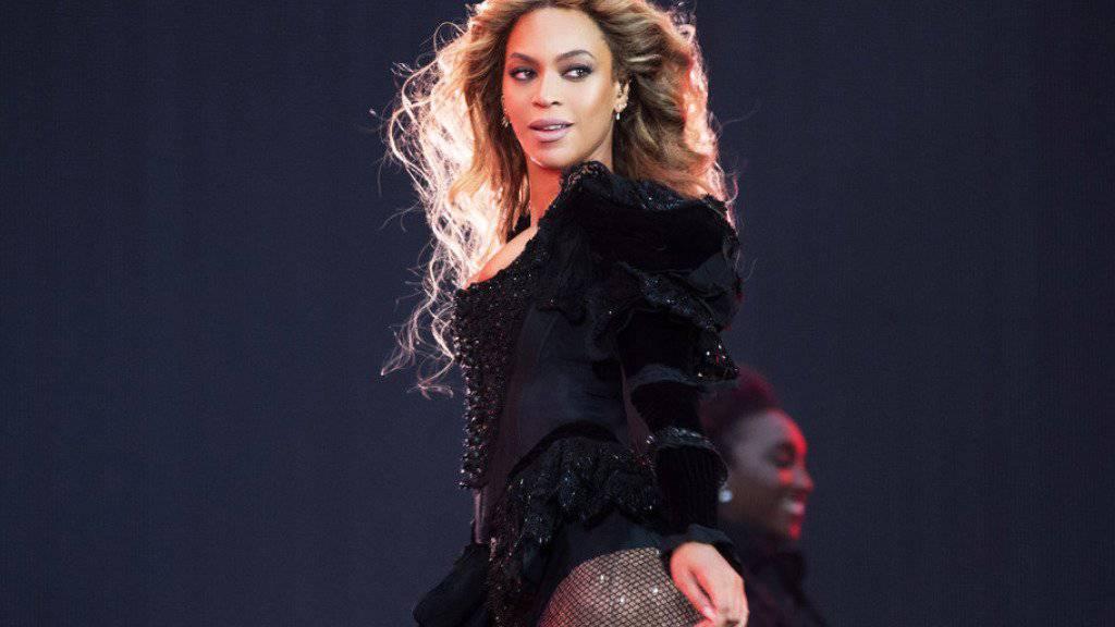 US-Popstar Beyoncé geht als klare Favoritin ins Rennen um die diesjährigen MTV Video Music Awards: Sie ist elf Mal nominiert. (Archivbild)