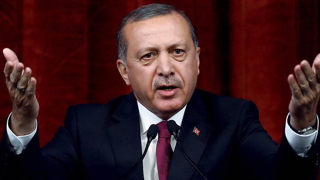 Versöhnungsgeste: Der türkische Präsident Erdogan zieht Strafanzeigen wegen Beleidigung zurück.