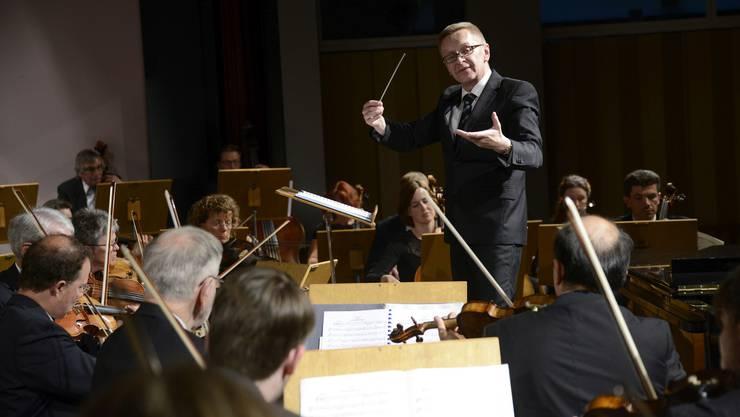 Mit Délibes, Chopin und Saint Saëns verabschiedete sich Daniel Polentarutti vom Grenchner Publikum.