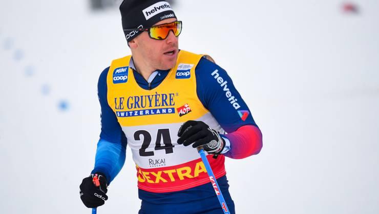 Bärenstarker Auftritte von Sprinter Jovian Hediger beim Weltcupauftakt im finnischen Ruka.