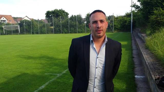 Trainer Gianni Musumeci vom FC Urdorf im Interview