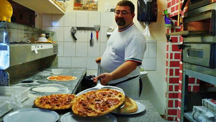 Gerardo Prota ist für seine einzigartigen Pizze bekannt.