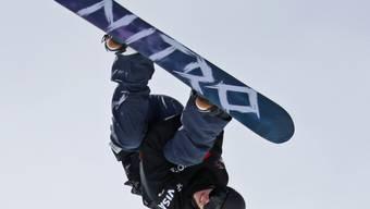 Spektakulär: Snowboarder Jan Scherrer will mit einem neuen Sprung hoch hinaus