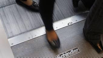 Eine Rolltreppe der Firma Schindler (Archiv)
