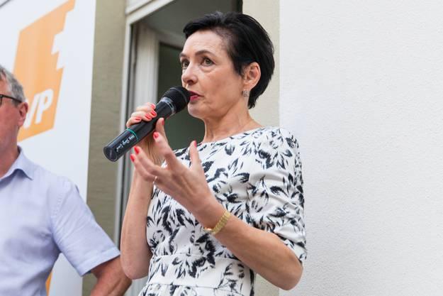 Marianne Binder soll die Anliegen der Aargauer Bevölkerung mit gutem Sensorium wahrnehmen