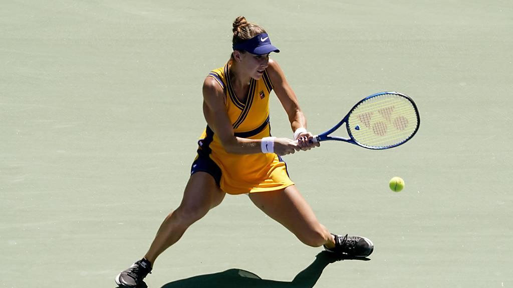 Bencic zieht überzeugend in die Achtelfinals am US Open ein