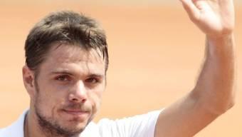 Stanislas Wawrinka kämpfte sich gegen Tomas Berdych in die nächste Runde