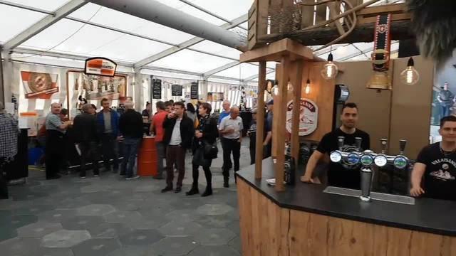 Eröffnungstag der Solothurner Biertage Solothurn 2018 mit Kilian Ziegler
