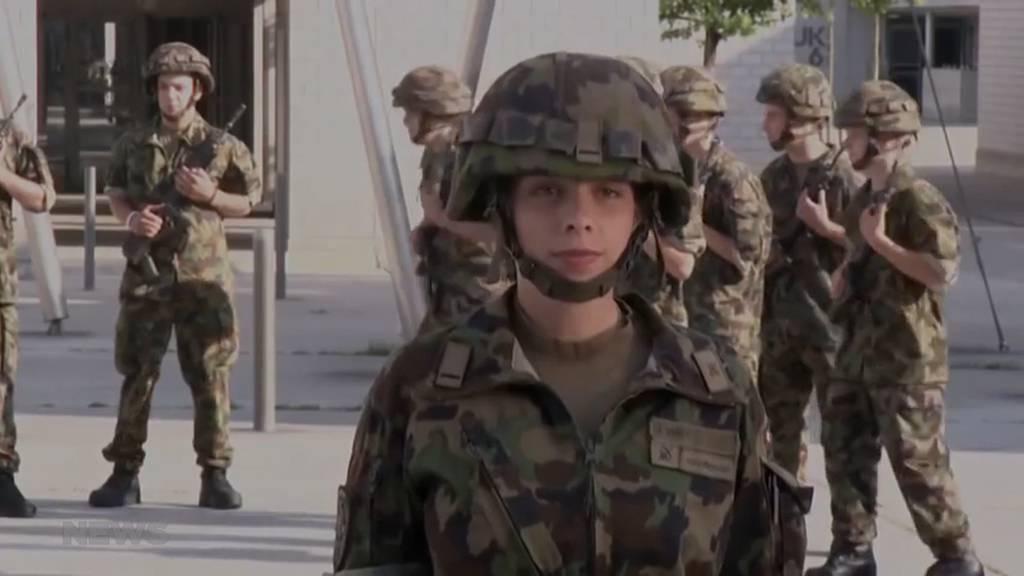 Soll die Militärpflicht auch für Frauen gelten?