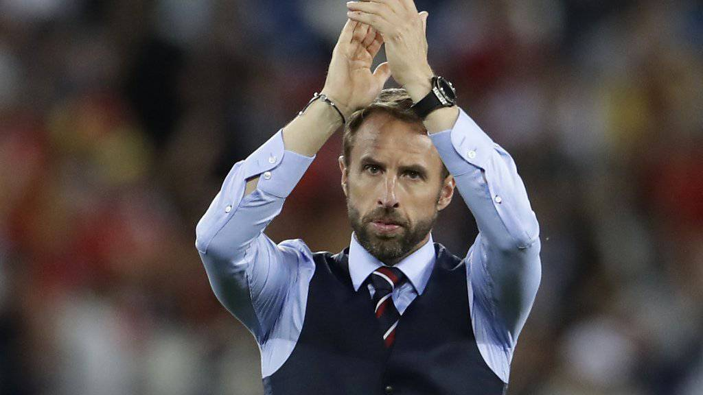 Nationaltrainer Gareth Southgate hat mit England viele Hoffnungen geweckt