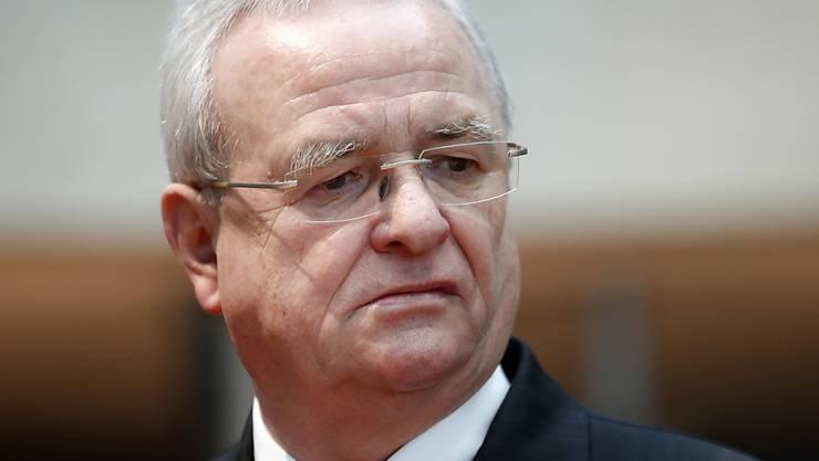 Soll Gelder in die Schweiz verschoben haben: Der ehemalige VW-Chef Martin Winterkorn. (Archivbild)