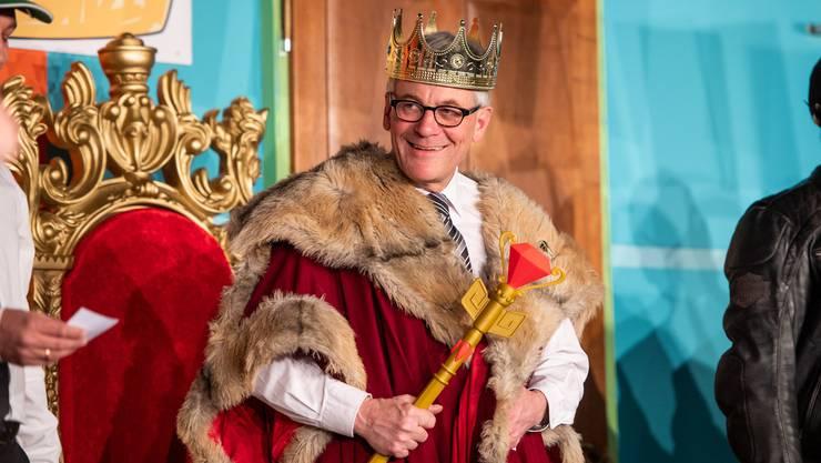 König Kurt? Nicht nur an Fasnachtsanlässen ist der Solothurner Stadtpräsident Kurt Fluri eine dominierende Figur. Er stellt auch im Kandidatenfeld der FDP für die Nationalratswahlen alle anderen in den Schatten.