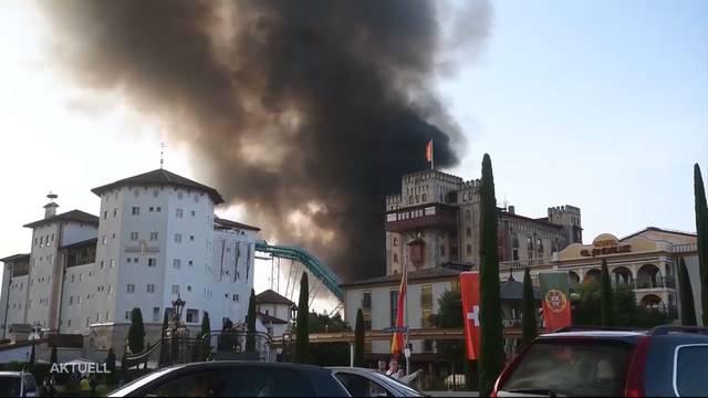Nach dem Inferno im Europa-Park