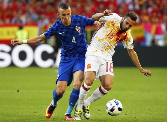 Kroatien drehte das Spiel gegen Spanien noch.