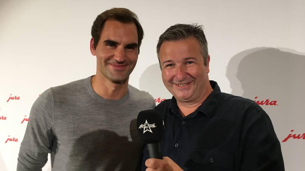 Exklusiv-Interview mit Roger Federer