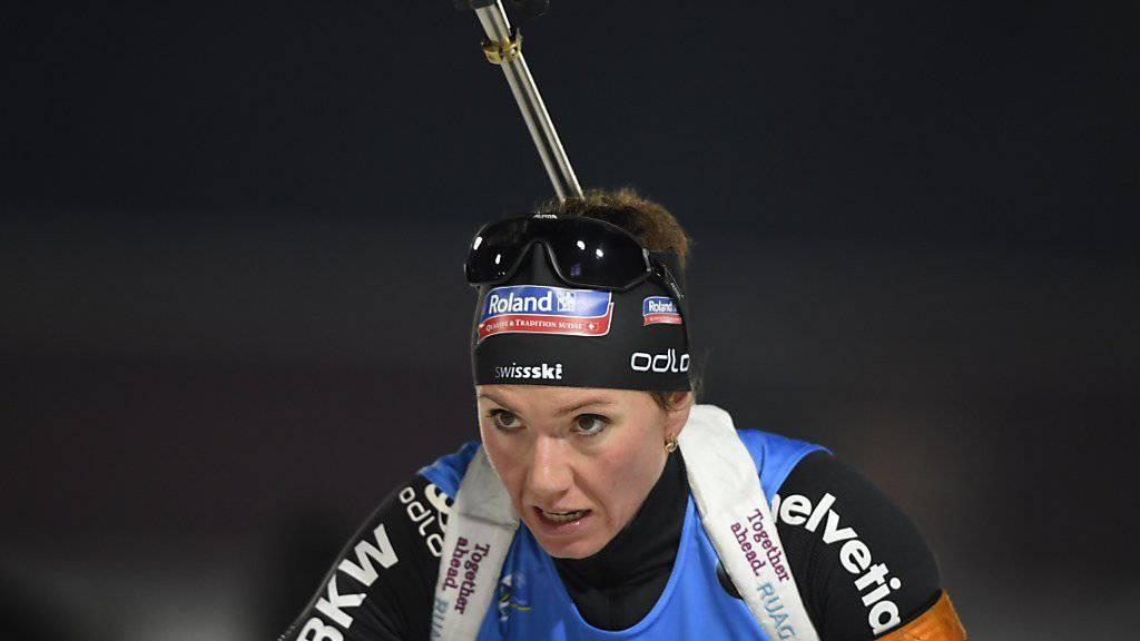 Skeptischer Blick, aber zufriedenstellendes Resultat: Selina Gasparin schaffte als 21. die Olympia-Qualifikation