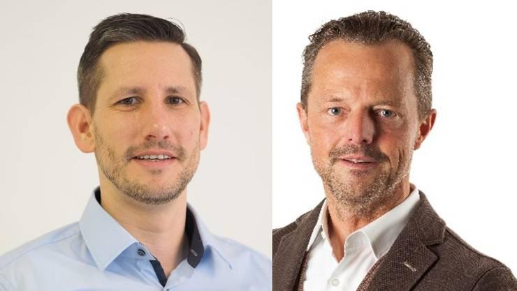 Zwischen ihnen entscheidet das Los: André Wymann (Quartierverein Fahrweid) und Harry Landis (parteilos).