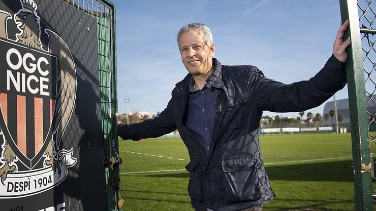 Nice-Coach Lucien Favre öffnet die Türe zur Champions League