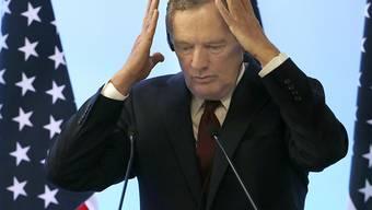 Beklagt die schleppenden Verhandlungen mit Mexiko und Kanada für ein neues nordamerikanisches Freihandelsabkommen: der US-Handelsbeauftragte Robert Lighthizer.