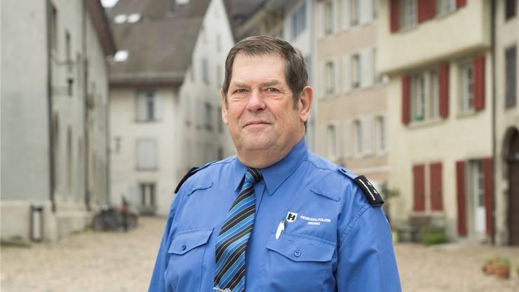 Der Chef der Regionalpolizei Heiner Hossli.