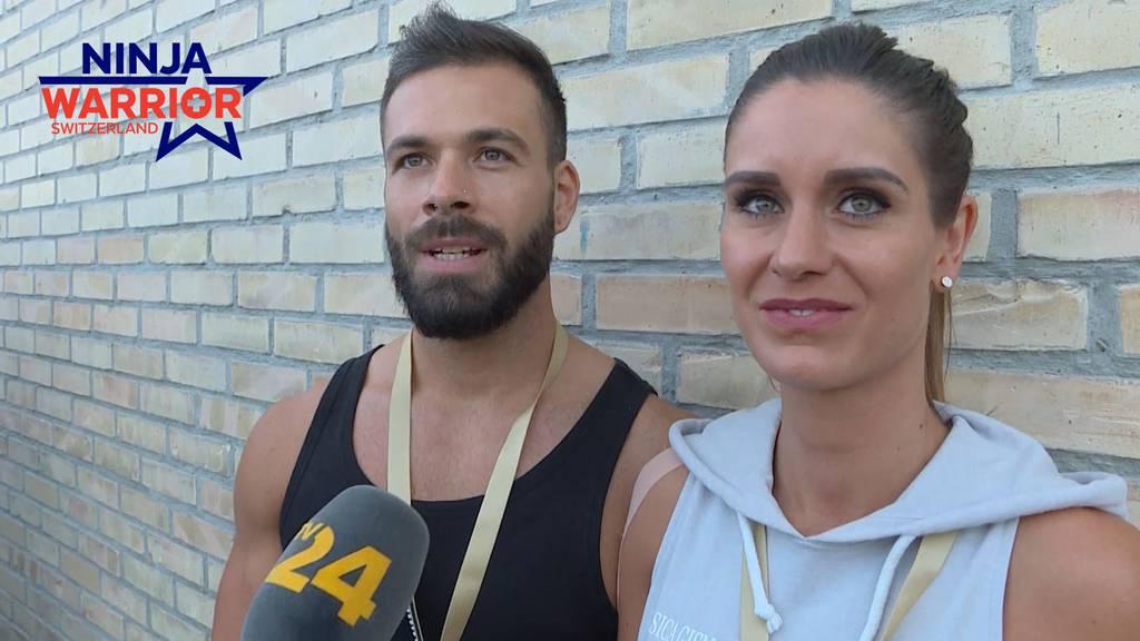 Jessica Gismondi und Kevin Waller im Ninja-Fieber!